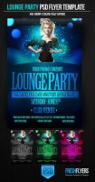 Lounge Party PSD Flyer Template by ImperialFlyers
