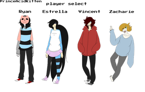 Player Select by PrinceAcidKitten