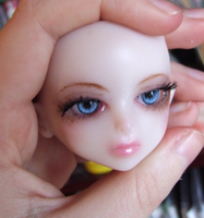 Handmade BJD Violet - Blue Eyes by daiin
