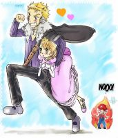 ::Laxus x Lucy:: by 191195