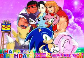 Dude it's Your Day aka Happy Birthday Ss2sonic by vsking123