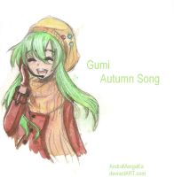 Gumi Autumn Song by AndraMangaKa