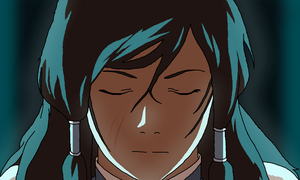 Much Needed Rest - Korra by Artworx88