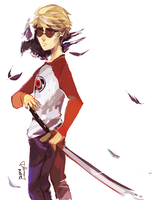 dave strider by LaWeyD