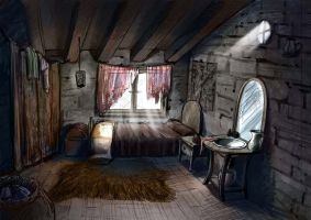 Room of the tabern by Sonia-bessona