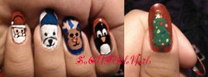 Merry Christmas Nail Art 2011 by SoCUTEicleNails