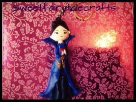 Regina (Evil Queen) charm by Sweetfairytalecrafts