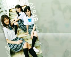 AKB48 girls by karlaxwp