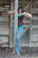 Corset and Jeans 92 by sd-stock