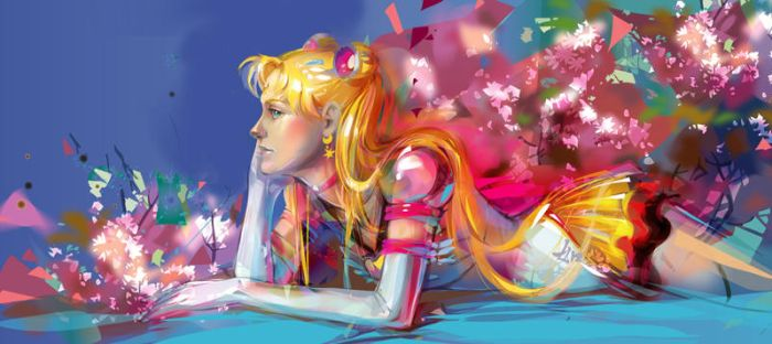 Sailor moon  Eternal by LimKis