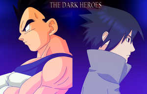 The Prince of All Saiyans and The Avenger by HayabusaSnake