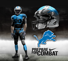 Detroit Lions Home by DrunkenMoonkey