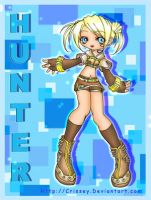 +Chibi Hunter+ by Crissey by ChibiArt-Club