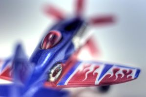 Hot Wheels airplane Mad Propz by spudart