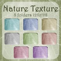Nature Texture Folders by WickedDesktop