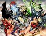 DCUO Wraparound cover by perpetualpanda