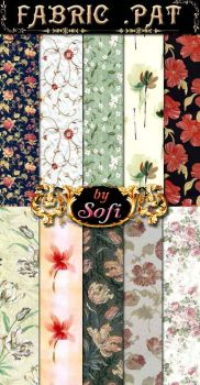 Floral Fabric Patterns by sofi01