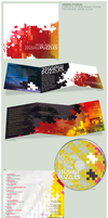 Jigsaw Puzzles Album Design by BlakliteGraphics