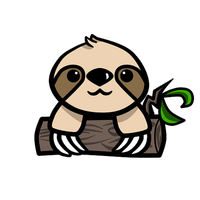 Chibi Sloth by Kiwiibuns