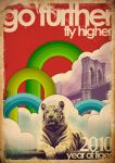 year of tiger poster by Duntiwan