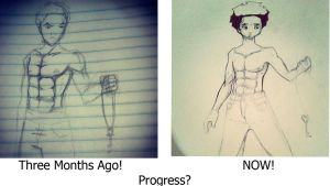 The Progress of 3 Months! by Its-Artorias