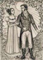 Mr. and Mrs. Darcy by Theophilia