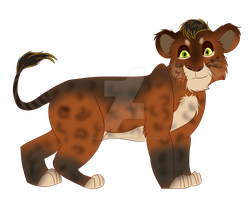 Lion Cub Lineart Pack by Neo-Kyuubi-no-Yoko