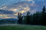 Misty Evening by oddmountain