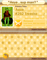 PKMN Crossing App: Aqua by FoxxyFoxTrot