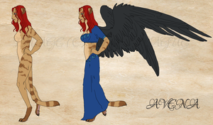 Reference Sheet - Avena by spellplague