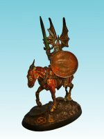 Mounted Wight Lord by nergling