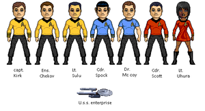 Uss Enterprise sto by digikevin10