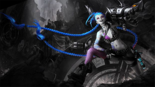 Jinx color splash by XenoviaTM