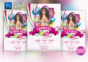 Carnival Flyer Template by Grandelelo