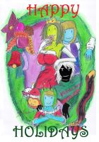 Happy Holidays From The Olden Woods by Herbie-and-Company