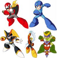 My Favorite Megaman Characters by AstroBoy122