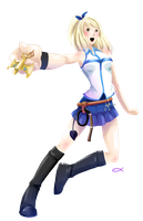 Lucy Heartfilia by LittleAnchovy