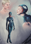 Venom Trio by clc1997