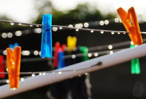 Pegs and drops by AfricanObserver