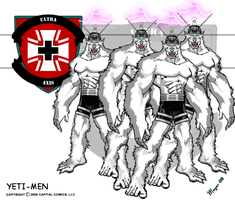 The Yeti-Men by skywarp-2