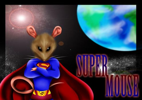 Supermouse Book Cover by Blaze-Fiery-Kitty