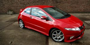Honda Civic: Type R by Vipervelocity