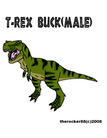 JP - Male T-rex by true-redemption88
