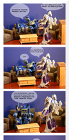 The Adventures of Housewife Percy. Pt 5. Couchtime by Dellessanna