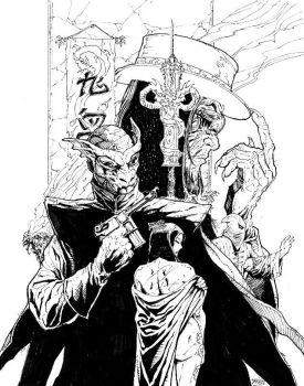 Mask of the Gargoyle cover by Darry