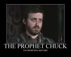 The Prophet Chuck by SpryteMage