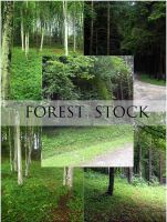 Forest Stock by ImaginaryRosse
