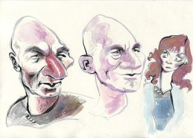 Picard, Picard, Beverly by ChloeC
