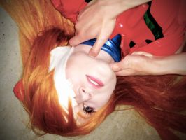Asuka Langley: I feel sick by MaryjaneDesignStudio
