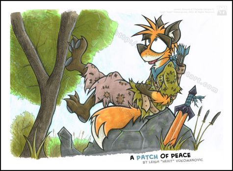 A Patch of Peace by Hexit